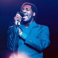 Otis Redding live at Monterey Pop Festival. Photo by Elaine Mayes.