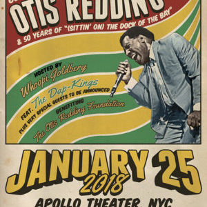 "Otis Redding ""An Evening of Respect"" January 25, 2018 at the Apollo Theater"