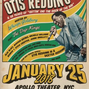 The 2018 Evening of Respect is January 25, 2018 at the Apollo Theater in NYC